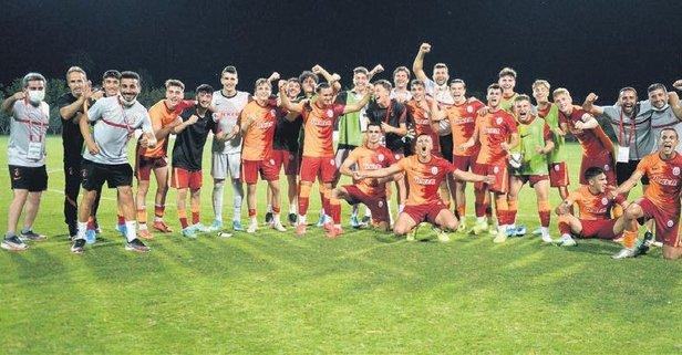 U19 Gelişim Ligi'nde ilk finalist Galatasaray