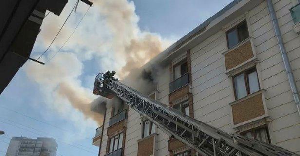 Esenyurt'ta korkutan yangın! Büyük panik yaşandı