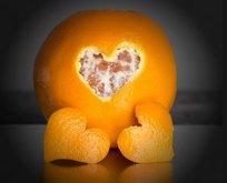 Portakalı soydum stresi kovdum!