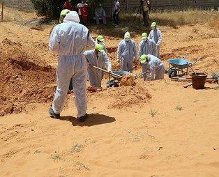 Son dakika: Libya'daki toplu mezarlarla ilgili flaş açıklama: Savaş suçu işlendiğine dair delil teşkil edebilir