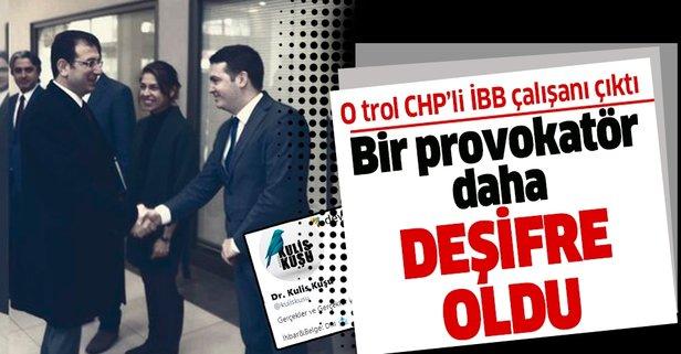 O troll CHP'li İBB  çalışanı çıktı