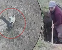 Jandarmaya ait 'drone'u taşlamıştı! Suçüstü yakalandı