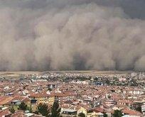 Türkiye'de toz taşınımlari 1 hafta sürecek