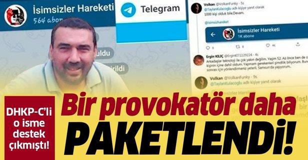 Bir provokatör daha gözaltına alındı!