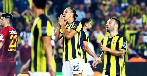 Fenerbahçe şimdi yandı