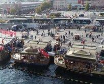 Eminönü'ndeki tekneler hakkında yeni karar!