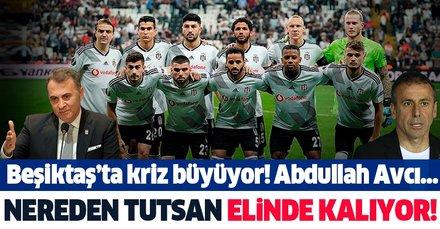 Beşiktaş nereye koşuyor! Nereden tutsan elinde kalıyor...