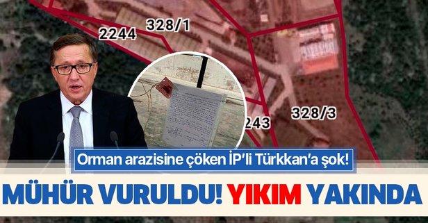 Türkkan'ın fabrikası mühürlendi!