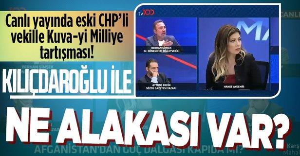 Canlı yayında Kuva-yi Milliye tartışması: Kılıçdaroğlu ile ne alakası var!