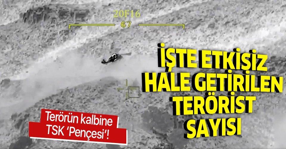 Son dakika: Pençe-Kaplan Operasyonu'nda toplam 41 terörist etkisiz hale getirildi