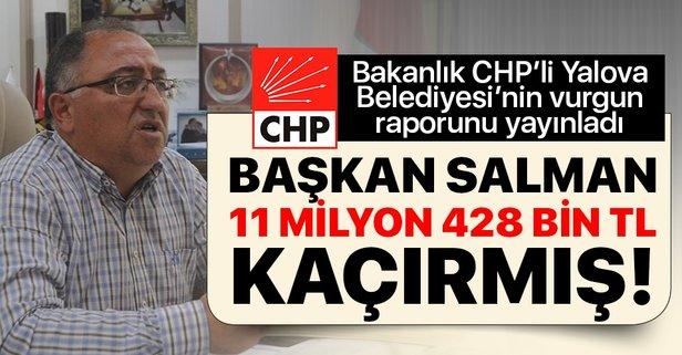 CHP'li belediyenin vurgun raporu
