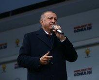 Başkan Erdoğan'dan Adıyaman'da açıklamalar