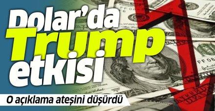 Dolar son dakika... Trump'ın Türkiye mesajı sonrası Dolar'da son durum!