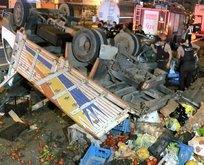 İstanbul Pendik'te korkunç kaza