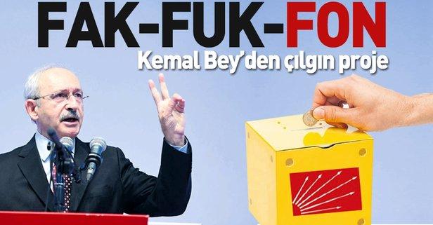 Kemal Bey'den çılgın proje: FAK-FUK-FON