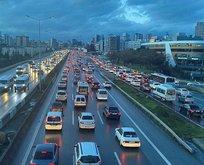 İstanbul'da trafik yoğunluğu! Yüzde 78'e ulaştı