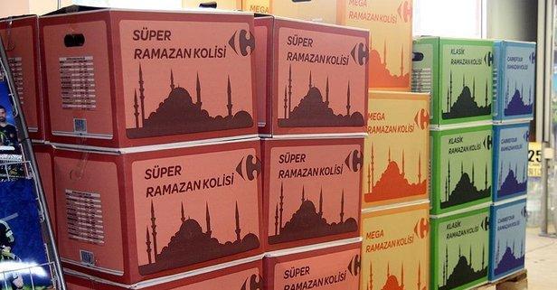 Ramazan kolisi fiyatları belli oldu?
