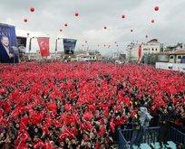 Konya'da Erdoğan sevgisi