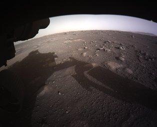 Mars'tan renkli fotoğraf