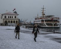 Meteoroloji uyarmıştı! İstanbul'a beklenen yağış geldi