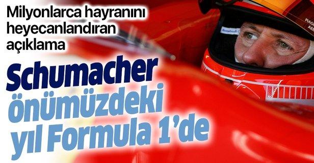 Schumacher gelecek yıl Formula 1'de!