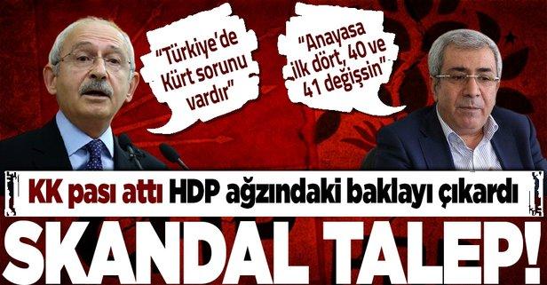 HDP'li vekilden skandal talep!