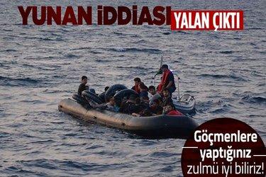 İçişleri Bakanlığından Yunanistan'ın Türkiye'yi hedef alan 'düzensiz göçmen' iddialarına yalanlama!