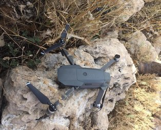 PKK'lı teröristlere ait drone ele geçirildi