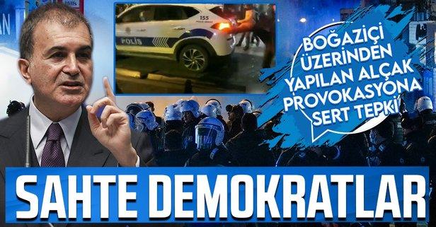 AK Parti'den Boğaziçi provokasyonuna sert tepki