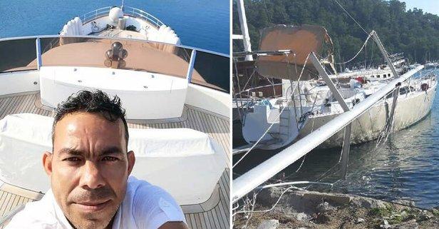 Teknede feci ölüm! 15 metreden çakıldı