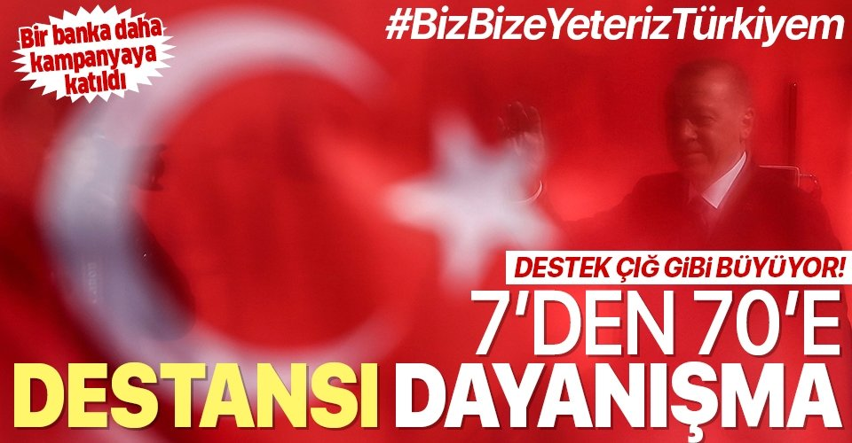 Başkan Erdoğan ilk bağışı yapmıştı! Milli Dayanışma Kampanyası'na destek yağıyor