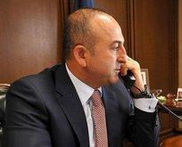 Almanya'dan Çavuşoğlu'na telefon