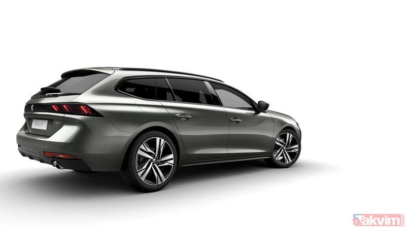 Peugeot, yeni 508 SWyi tanıtıyor