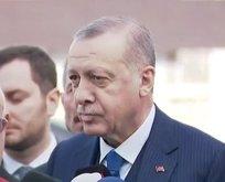 Erdoğan Suriye krizine ilişkin flaş açıklama