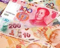 Swapta ilk yuan kullanıldı