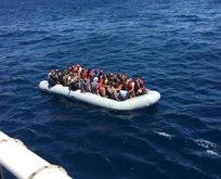 Sahil güvenlik Suriyeli bebeği kurtardı