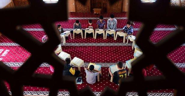 Kur'an kurslarına verilen ara uzatıldı