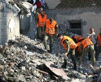 Depremde ölenlerin sayısı 13'e yükseldi