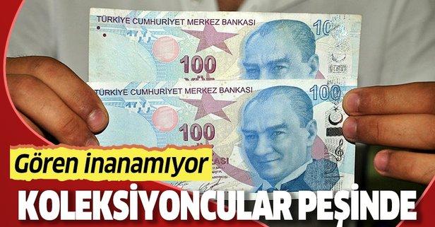 100 TL'lik banknota teklif bekliyor!