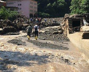 Araklı'da sel felaketi: 4 ölü, 6 kayıp!