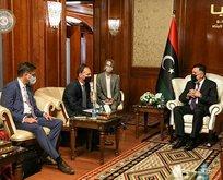 Libya Başbakanı Serrac, Heiko Maas ile görüştü