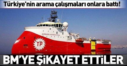 Rumlar, Barbaros Hayreddin Paşa gemisinin faaliyetlerini BM'ye şikayet etti