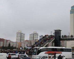 Tüm İstanbul oraya akın etti! Her yer kilitlendi