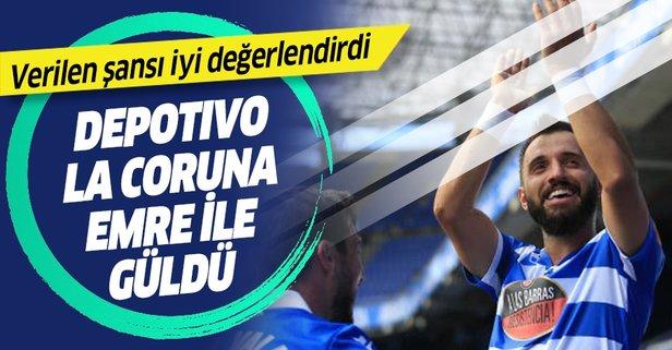 Deportivo, Emre Çolak ile güldü