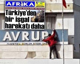Kıbrıslı Türklerden Zeytin Dalını hazmedemeyen gazeteye tepki