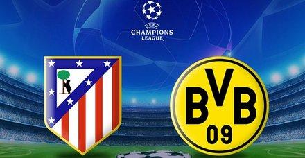Dortmund zorlu Atletico deplasmanına çıkıyor
