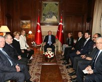 Erdoğan, Osmanlı hanedan üyelerini ağırladı