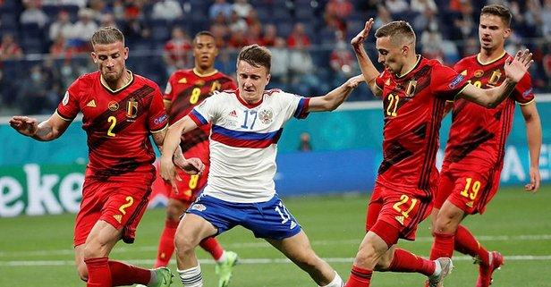 EURO 2020 B Grubu'nda Belçika liderliğe oturdu