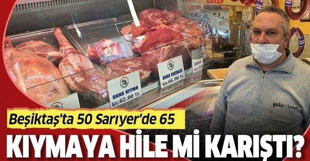 Beşiktaş'ta 50, Sarıyer'de 65 lira
