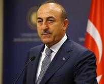 Bakan Çavuşoğlu'ndan kritik görüşmeler